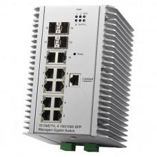 JetNet 7014G Промышленный управляемый коммутатор